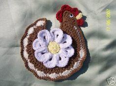 Receitas de Crochet: Pegadores