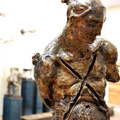 #javiermarinescultor, #javiermarin, #terrenobaldioarte, #escultura, #sculpture, #art, #bronce, #bronze, #hombre, #man, #torsodehombre