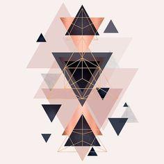 Design Geometric Wallpaper Iphone, Pink Wallpaper Iphone, Geometric Shapes Art, Geometric Artwork, Summer Wallpaper, Cool Wallpaper, Creative Wall Decor, Nail Art Photos, Doodle Frames
