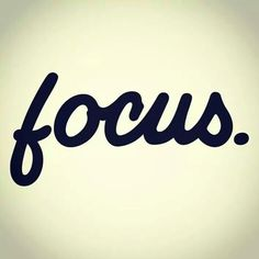 Focus. It's the secret to writing a great book.
