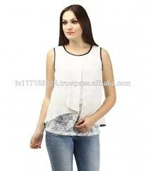 Image result for georgette top