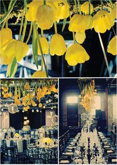 <3 tulip chandeliers!