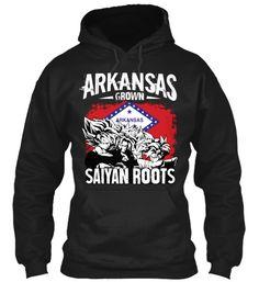 Super Saiyan Hoodie Shirt - FOR ARKANSAS FANS - TS00167HO