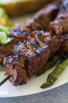 An easy and simple homemade meat marinade for summer! Made with soy sauce…