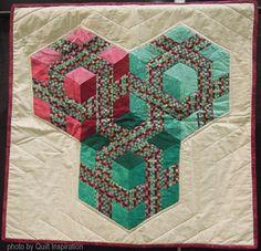 Optical Cubes by Jeanne Walsh (Tucson, Arizona)