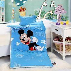 Mickey Mouse Style2 Blue Disney Sleeping Bag Sets
