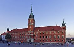 Kongeslottet i Warszawa - Wikipedia, den frie encyklopædi