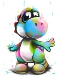 Yoshi :D by Foxeaf