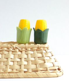Vintage Corn on the Cob S Shakers by cheerfulowl on Etsy, $6.95