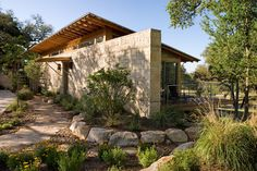 1000 images about house plan exterior ideas on pinterest for Hill country contemporary architecture