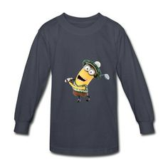 7447d897 Minions Tim Playing Golf Youth T-shirts online at HICustom.Free Shipping