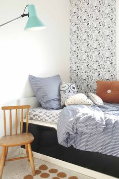 Is To Me | Interior inspiration | Kid's room Boy Room, Kids Room, Kids Bedroom Designs, Childrens Room Decor, Blue Bedding, Room Inspiration, Interior Inspiration, Kid Spaces, Kids House
