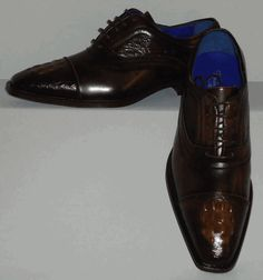 Mens Gorgeous Deep Brown Classy Exotic Look Dress Shoes Roberto Chillini 6543 Lace Up Shoes, Dress Shoes, Deep Brown, Men Dress, Exotic, Oxford Shoes, Classy, Brand New, Leather