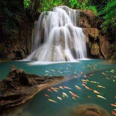 Namuang Waterfalls Koh Samui Thailand