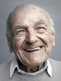 Gorgeous Portraits of Mostly Happy 100-Year-Olds    Photo credit: Karsten Thormaehlen