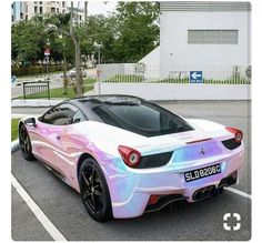 Pink Pearl Auto Paint
