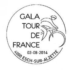 "Sonderstempel zur luxemburgischen ""Tour de France"""