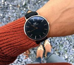 OFF Daniel Wellington using code: at checkout. And OFF Holiday Bundles (watch + cuff or strap) use my code at checkout for the additional money off. All Black Watches, Watches For Men, Women's Watches, Daniel Wellington Watch Women, Dw Watch, Luxury Watches, Stylish Watches, Fashion Accessories, Watch Accessories