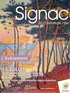 Exposition Paul Signac au Musée Fabre à Montpellier
