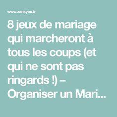 8 jeux de mariage qui marcheront à tous les coups (et qui ne sont pas ringards !) – Organiser un Mariage | Zankyou France