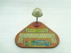 Vintage antique game FOO CHUNG J CHEIN toy dice chinese board tin metal RARE !!! | eBay