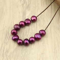 Baroque Freshwater Pearl Beads,12-13mm Gemstone Beads Loose freshwater pearl,2.5mm hole wine red beads,20pcs,loose pearl beads,WYJ-L132