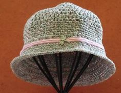 Crochet Womans Hat    Vintage Style   Cloche   by SophiesHats