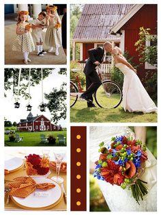 Para lembrar de um casamento perfeito: Casamento Rústico