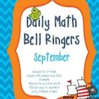 2nd Grade Daily Math Bellringers for September - CCSS aligned - Morning Work - The Common Core Classroom