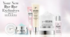 You can now find your IT Cosmetics favorites, plus the new Bye Bye Collection of skincare exclusives, in a Sephora near you! #entry