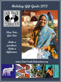 Fair Trade Federation Holiday Gift Guide 2012 - great gifts that give back, including Peace Cord (p 15)!