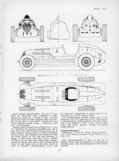 Alfa-Romeo Bimotore (Prototype parade №129)