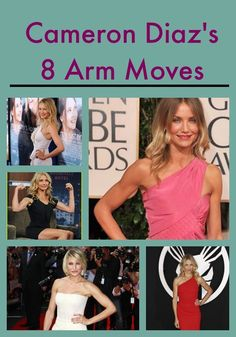 Tone those arms with Cameron Diaz's 8 Arm Moves