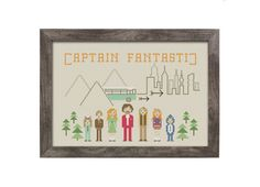 BUY 2 patterns and GET 1 FREE Captain Fantastic by eXehandmade