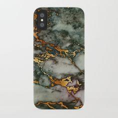 Gray Green Marble Glitter Gold Metallic Foil Style iPhone Case by originalaufnahme Iphone 5se, Iphone 8 Plus, Marble Iphone Case, Marble Case, Green Marble, Gold Glitter, Green And Grey, Shop, Metallic