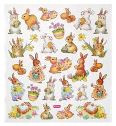 Hobby Design Sticker * Hase Hasen Ostern * Aufkleber 3452338: Amazon.de: Küche & Haushalt