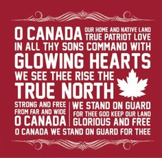pinner said; Canada Think my neighbours could have used these words on Canada day. they attempted to sing oh Canada (in beer voices) Canadian Things, I Am Canadian, Canadian Girls, Canadian History, Canadian Humour, Canadian Food, Westminster, Canadian National Anthem, Canada Day Party