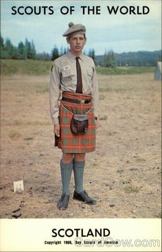 Scouts of the World: Scotland Boy Scouts