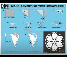 Lumpy space princess snowflake adventure time
