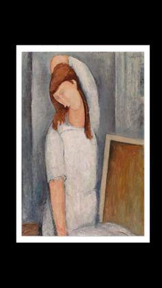 Amedeo Modigliani - Jeanne Hébuterne, bras gauche derrière la tête, 1919 - Huile sur toile - 100 x 65,3 cm - Fondation Barnes, Philadelphie