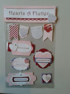 Card candy swap, in love with stamping for European stampin up convention 2013