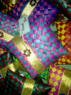Lovely thamboolam bags as return gifts