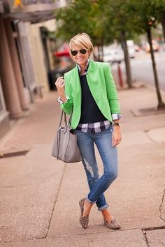 Cool For Women,36 Best Combinations Jeans,Blazer and Shirts in Spring Style http://clothme.net/2018/04/27/for-women36-best-combinations-jeansblazer-and-shirts-in-spring-style/