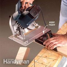 Square Circular Saw Cuts