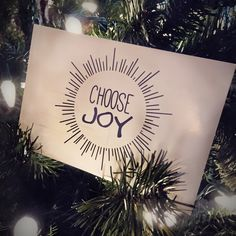 Resolutions are hard to keep, but creating one word for the year is more manageable.  #choosejoybook