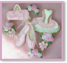 Ballet Hand Decorated Sugar Cookie Collections