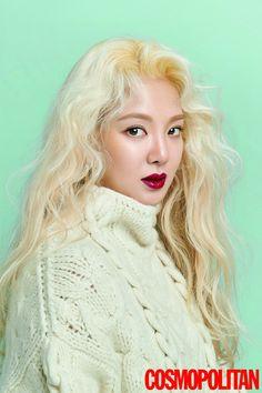 Hyoyeon for Cosmopolitan