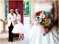 I just want to make one of the bouquets from those pins.....just because.