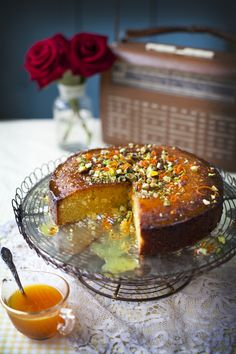 Orange Polenta Cake... | DonalSkehan.com