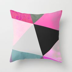 Abstract 03 Throw Pillow by Georgiana Paraschiv - $20.00